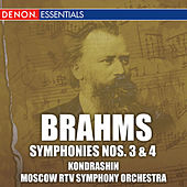 Brahms: Symphonies Nos. 3 & 4 by Moscow RTV Symphony Orchestra