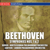 Beethoven: Symphonies 1 and 2; Egmont Overture by Various Artists