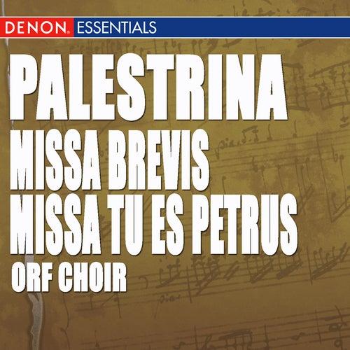Palestrina: Missa Brevis - Missa Tu es Petrus by Gottfried Preinfalk