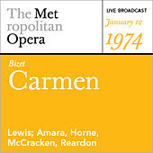 Bizet: Carmen (January 12, 1974) by Various Artists