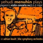 Yehudi Menuhin plays Paganini's Violin Concerto No. 1 by Yehudi Menuhin