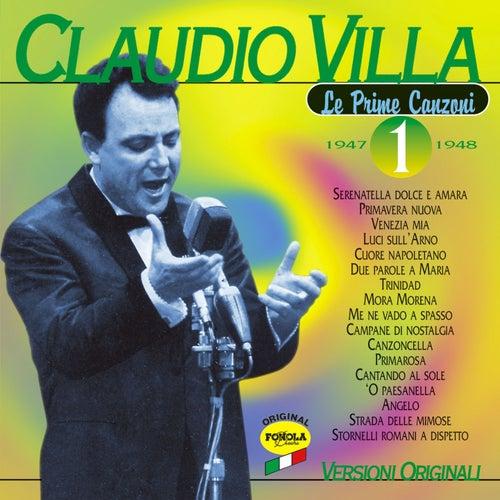 La prime canzoni vol.1 by Claudio Villa