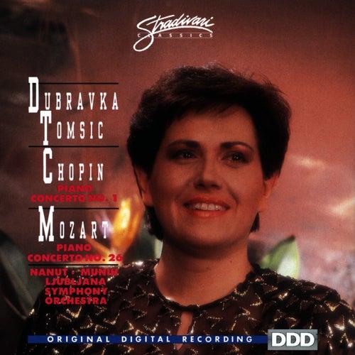 Chopin: Piano Concerto No 1 - Mozart: Piano Concerto No 26 by Dubravka Tomsic