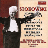 Leopold Stokowski - Hovhaness, Milhaud, Copland, Serebrier 1942-57 by Various Artists