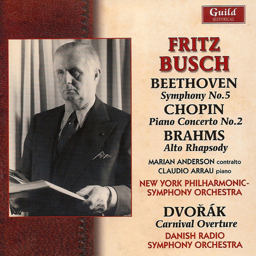 Fritz Busch - Beethoven, Chopin, Brahms - 1950 by Various Artists