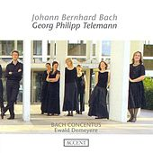 BACH, J.B.: Overtures / TELEMANN, G.P.: Overtures, TWV 55:E2, TWV 55:e10, TWV 55:F14 (Bach Concentus, Demeyere) by Ewald Demeyere