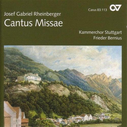 RHEINBERGER, J.G.: Mass in E flat major / Wie lieblich sind deine Wohnungen / Stabat mater / 5 Hymnen / Abendlied (Stuttgart Chamber Choir, Bernius) by Various Artists