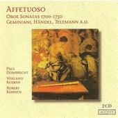 VINCENT, T.: Oboe Sonata No. 2 / BABELL, W.: Oboe Sonata No. 1 / HANDEL, G.F.: Oboe Sonata No. 3 (Affetuoso) (Dombrecht) by Wieland Kuijken
