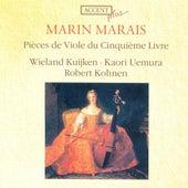 MARAIS, M.: Pieces de viole, Book 5 (Kuijken, Uemura, Kohnen) by Wieland Kuijken
