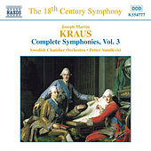 Complete Symphonies Vol. 3 by Joseph Martin Kraus
