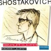 SHOSTAKOVICH: String Quartets (Complete) by Rasumowsky Quartet
