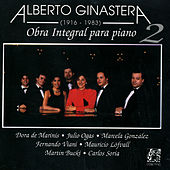 Alberto Ginastera:Obra Integral Para Piano Vol.2 by Various Artists