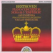 Beethoven: Piano Concertos Nos. 4 & 5 by Jan Panenka