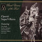 Opera's Super Villains by Various Artists