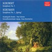 SCHUBERT, F.: Symphony No. 5 / SCHUMANN, R.: Symphony No. 1 (Konwitschny, Schreier) von Various Artists