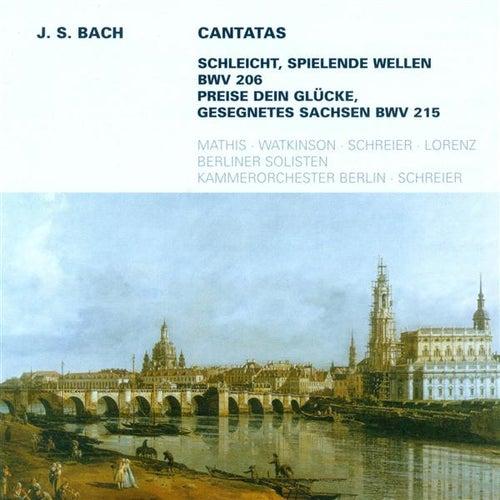 BACH, J.S.: Cantatas - BWV 206, 215 (Schreier) by Peter Schreier