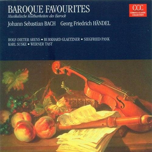 Baroque Chamber and Instrumental Music - BACH, J.S. / HANDEL, G.F. (Arens, Glaetzner, Pank, Suske, Tast) by Siegfried Pank