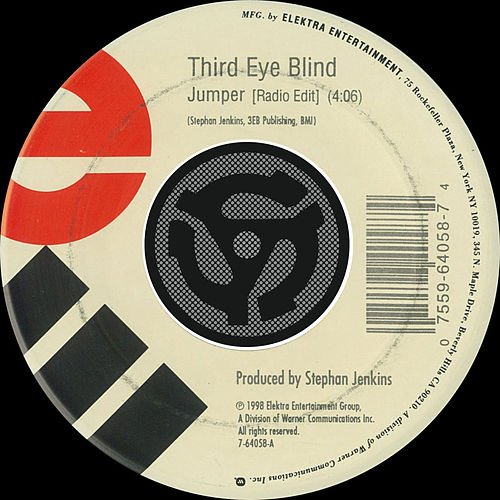 Jumper [Radio Edit] / Graduate [Remix] [Digital 45] by Third Eye Blind