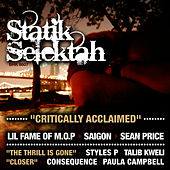 Critically Acclaimed b/w The Thrill Is Gone by Statik Selektah