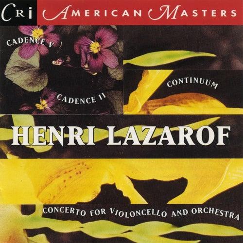 Henri Lazarof by Various Artists
