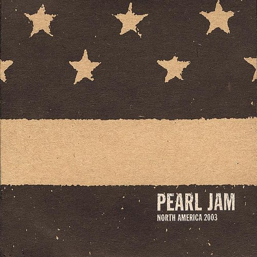 Apr 13 03 #23 Tampa by Pearl Jam