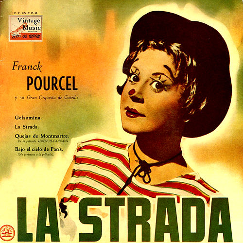 Vintage Dance Orchestras Nº 59 - EPs Collectors From The Films: 'La Strada', 'French Can Can' by Franck Pourcel