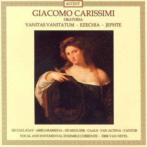 CARISSIMI, G.: Vanitas vanitatum / Ezechias / Jephte (Nevel) by Maite Arruabarrena