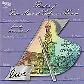 Rarities of Piano Music 2008 - Live Recording from the Husum Festival by Various Artists
