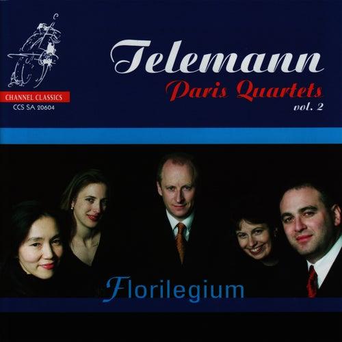 Telemann: Paris Quartets, Vol. 2 by Florilegium