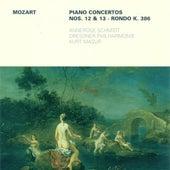 MOZART, W.A.: Piano Concertos Nos. 12 and 13 / Rondo, K. 386 (Schmidt, Dresden Philharmonic, Masur) by Kurt Masur