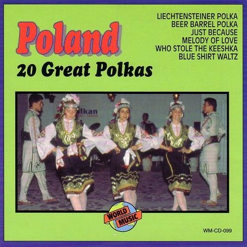 Poland - 20 Great Polkas by Frankie Yankovic