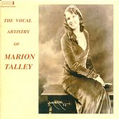 Vocal Recital: Talley, Marion (Soprano) – STRAUSS II, J. / ROSSINI, G. / VERDI, G. / THOMAS, A. / OFFENBACH, J. / DONIZETTI, G. (1923-1938) by Various Artists