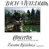 Bach:  Harpsichord Concertos (after Antonio Vivaldi) by Zuzana Ruzickova