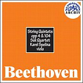 Beethoven:  String Quintets, Opp 4 & 104 by The Suk Quartet