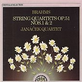 Brahms: String Quartets, Nos. 1&2 by Janacek Quartet