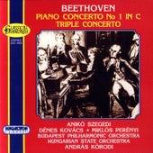 Ludwig van Beethoven: Piano Concerto No.1, Triple Concerto by Anikó Szegedi