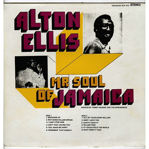 Mr. Soul of Jamaica by Alton Ellis