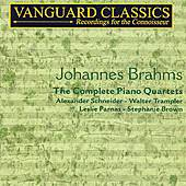 The Complete Piano Quartets by Johannes Brahms