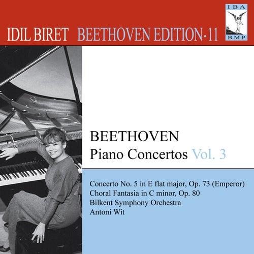BEETHOVEN, L. van: Piano Concertos, Vol. 3 (Biret) - No. 5, 'Emperor' / Choral Fantasy (Biret Beethoven Edition, Vol. 11) by Idil Biret