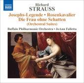STRAUSS, R.: Rosenkavalier (Der) Suite / Symphonic Fantasy on Die Frau ohne Schatten / Symphonic Fragment from Josephs Legende (Falletta) by JoAnn Falletta