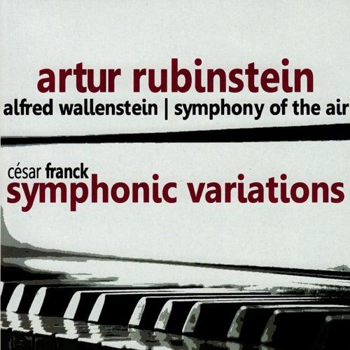 Franck: Symphonic Variations by Artur Rubinstein