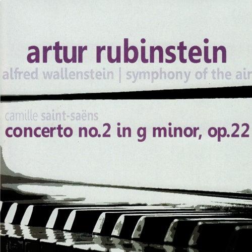 Saint-Saëns: Concerto No. 2 in G Minor, Op. 22 by Artur Rubinstein