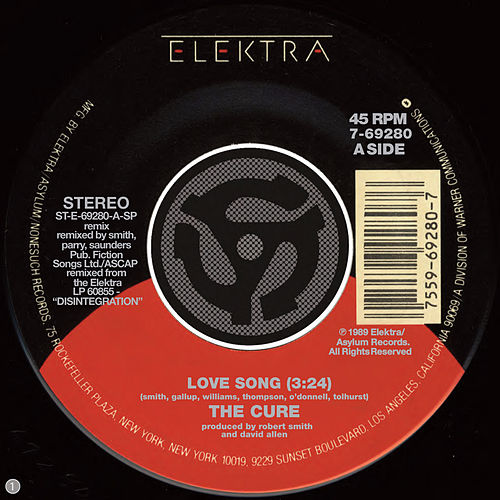 Love Song / 2 Late [Digital 45] by The Cure