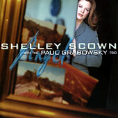 Shelly Scown with the Paul Grabowski Angel by Shelly Scown