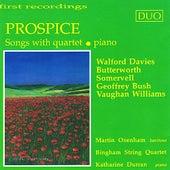 Davies: Prospice - Somervell: A Broken Arc - Vaughan Williams: Five Mystical Songs, et al. by Martin Oxenham