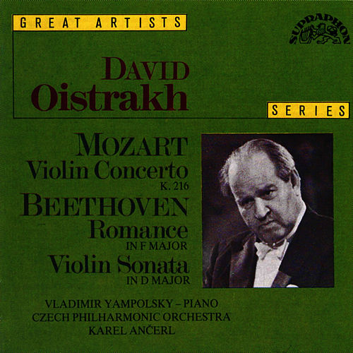 Mozart: Concerto No. 3 in G major, K. 216, Beethoven: Romance No. 2 in F major, Op. 50 by David Oistrakh