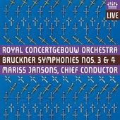 Bruckner: Symphonies Nos. 3 & 4 by Various Artists