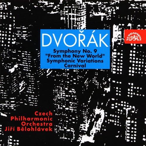 Dvorak: Symphony No. 9, Carnival, Symphonic Variations by Czech Philharmonic Orchestra