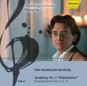 Mendelssohn Bartholdy: Symphony No. 5, String Symphonies Nos. 5,6,10 by Heidelberger Sinfoniker