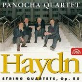 Haydn: String Quartets, op. 55 by Panocha Quartet